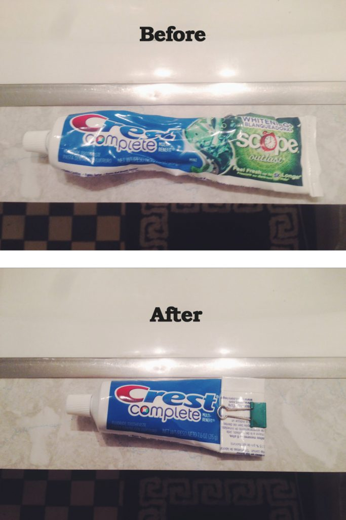 Life hack - save toothpaste