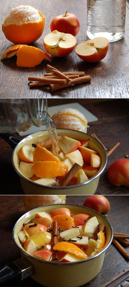 DIY home scents Apple Cinnamon