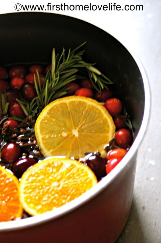 diy scent cranberry orange