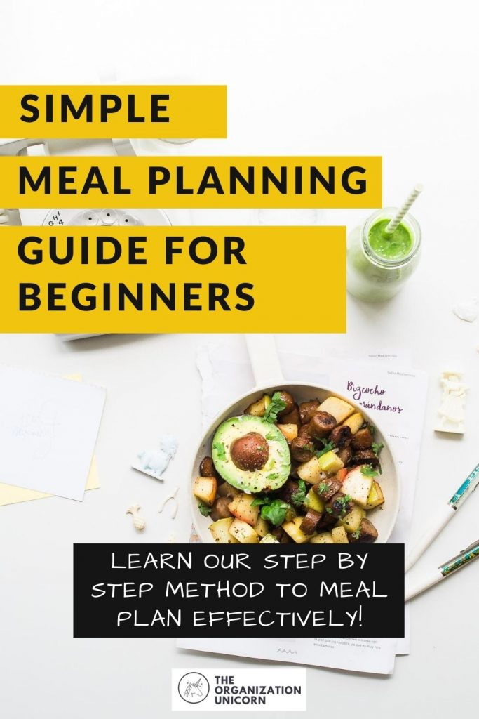 simple meal planning guide
